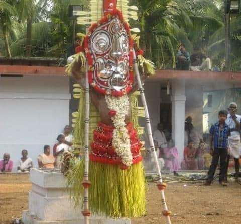 Dazzling Gulikan Theyyam - Story in Malayalam 1