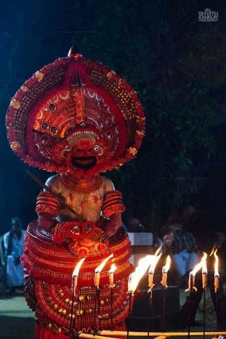 Kudiveeran Theyyam - കുടിവീരൻ