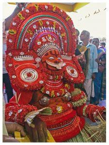 Chamundi Theyyam Photos - Kurathi Theyyam