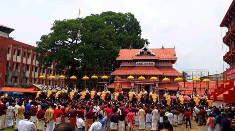 thrissur pooram temple